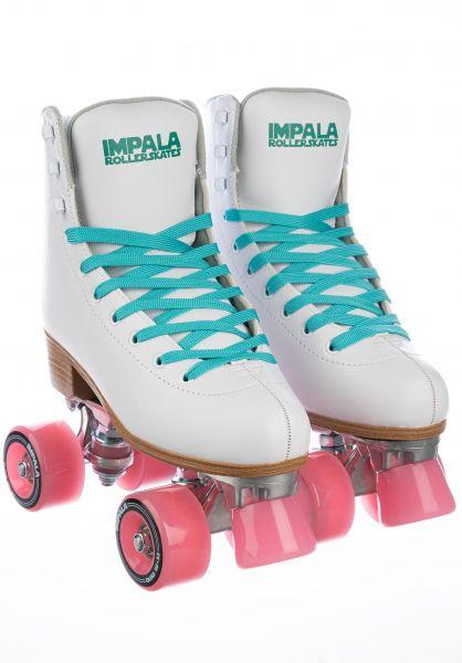Impala Alle Schuhe Quad Rollschuhe white vorderansicht 0292000
