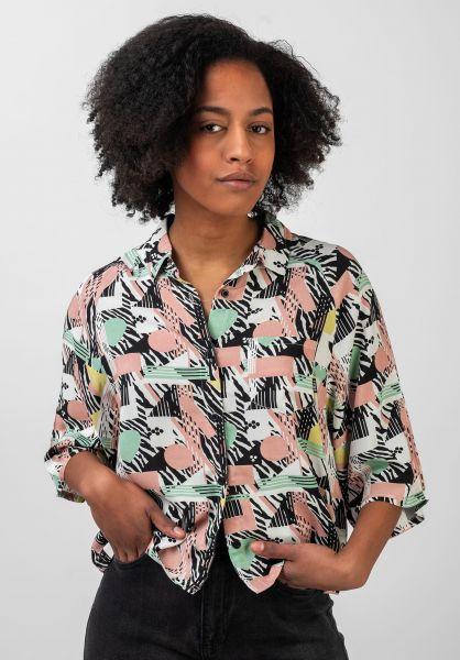 TITUS Hemden kurzarm Luna 80s-pattern vorderansicht 0400889