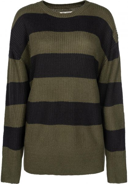 Billabong Strickpullover Late Night olive vorderansicht 0504251