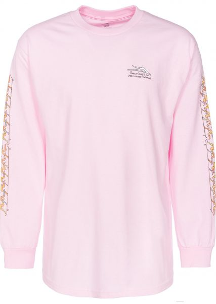 Lakai Longsleeves Porous Girls pink Vorderansicht