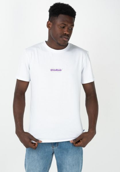 Goodbois T-Shirts Gear white vorderansicht 0322501