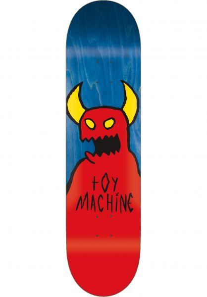 Toy-Machine Skateboard Decks Sketchy Monster natural Vorderansicht