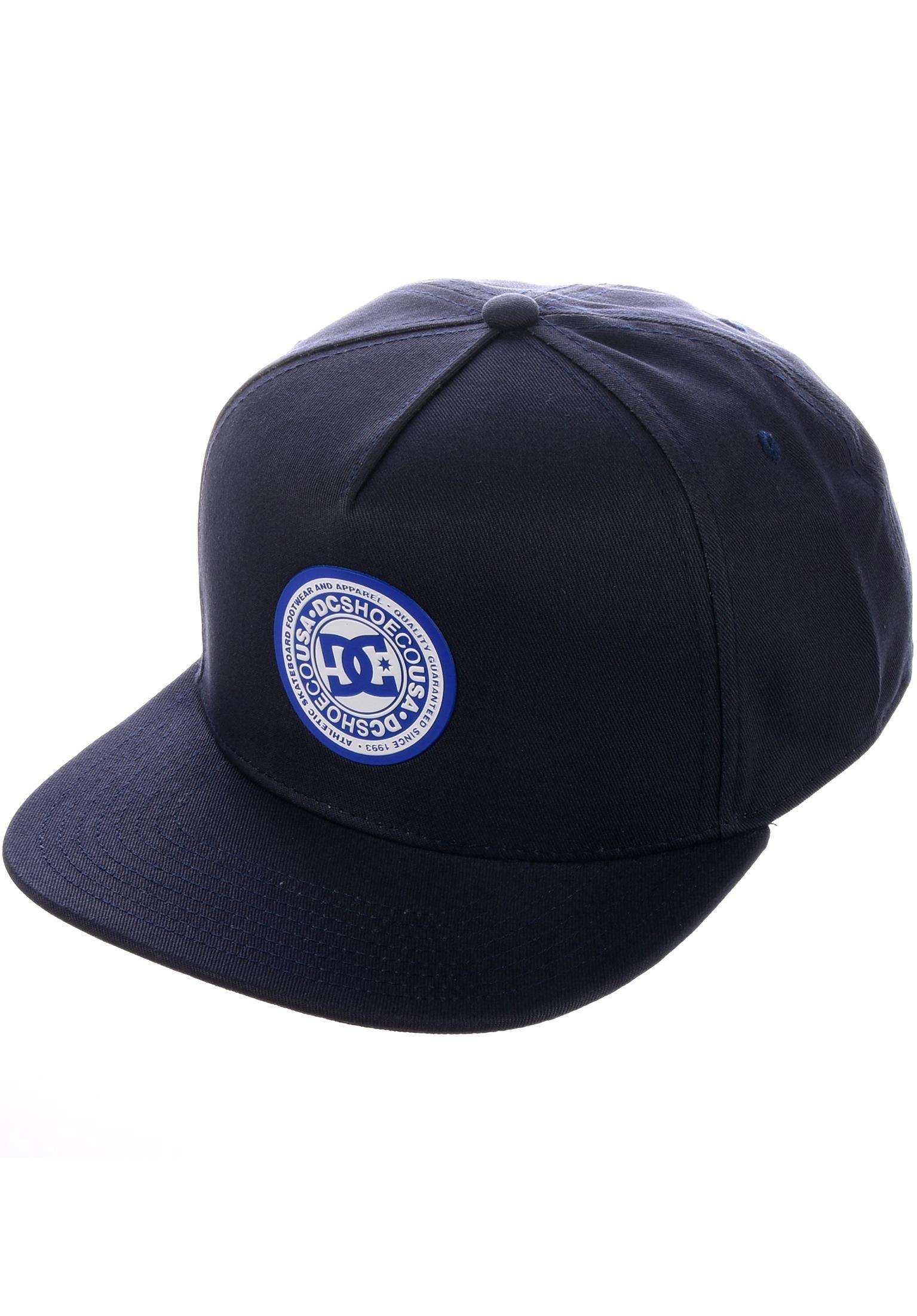 0e7f53db286 Reynotts DC Shoes Caps in navy for Men