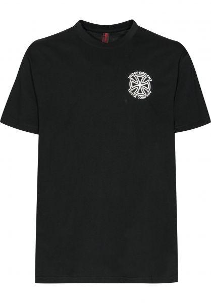 Independent T-Shirts Bauhaus Cross black Vorderansicht