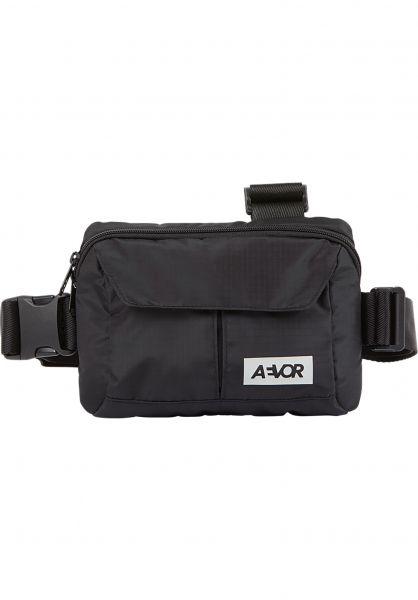 AEVOR Taschen Front Pack ripstop-black vorderansicht 0891634