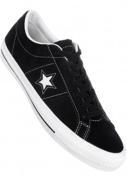 Converse CONS Alle Schuhe One Star Pro black Vorderansicht