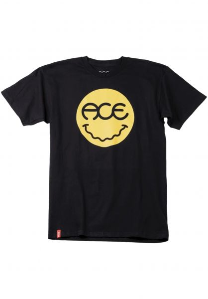 Ace T-Shirts Feelz black vorderansicht 0322314