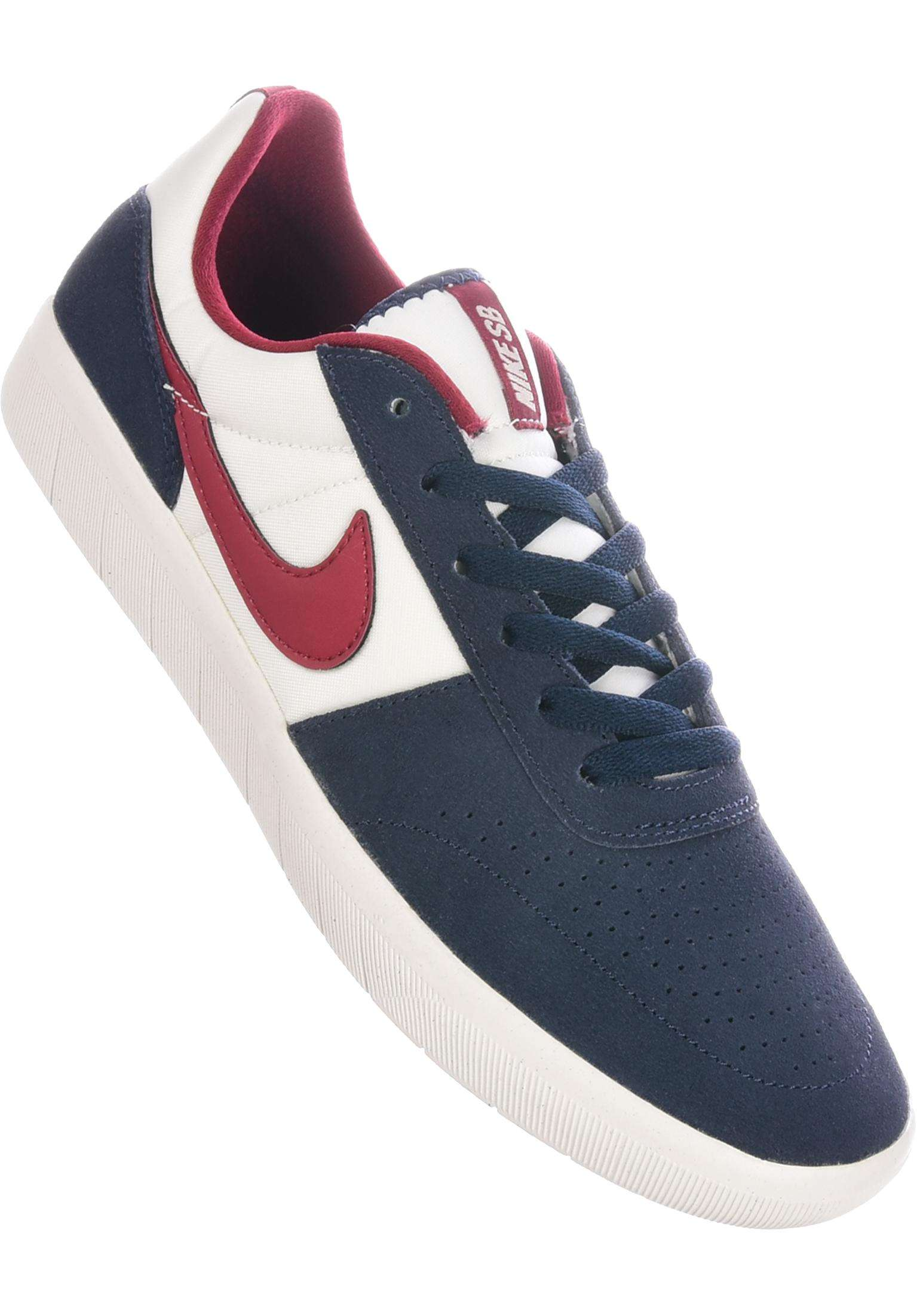 6ef76d9220 Team Classic Nike SB All Shoes in obsidian-red-summitwhite for Men   Titus