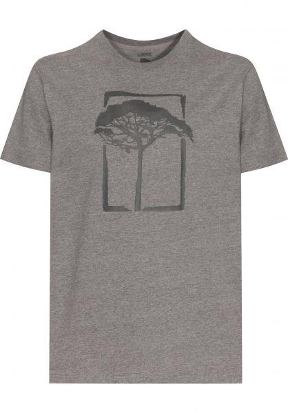 Mahagony T-Shirts T.O.L. Basic charcoalmelange vorderansicht 0371789