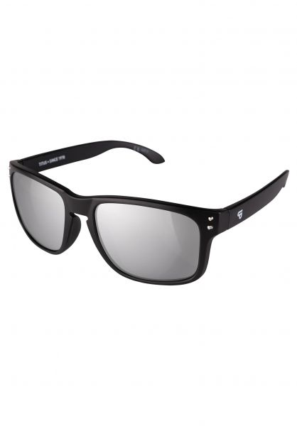 TITUS Sonnenbrillen LIS black-silver Vorderansicht