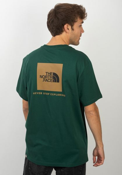 The North Face T-Shirts Redbox nightgreen vorderansicht 0320628