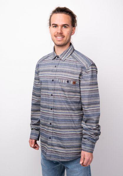 TITUS Hemden langarm Alfons multi-striped vorderansicht 0411785