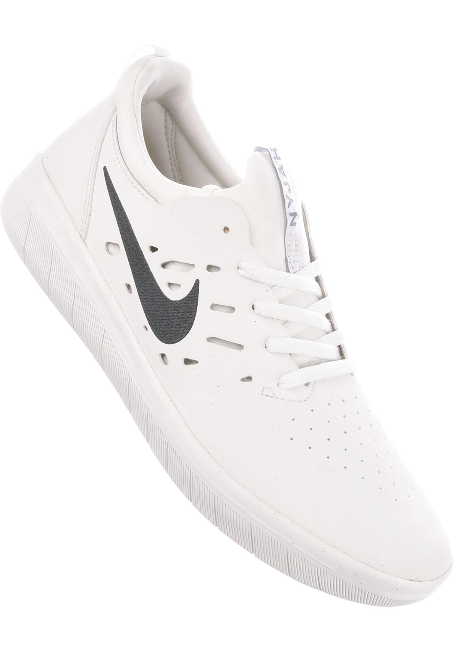 8210bcb04b5fb5 Nyjah Free Skateboarding Nike SB All Shoes in summitwhite-anthracite for  Men