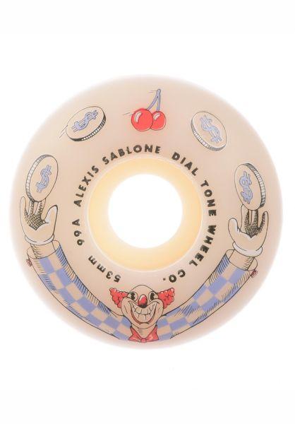 Dial Tone Rollen Sablone Wisecracker Standard 99A white vorderansicht 0135300