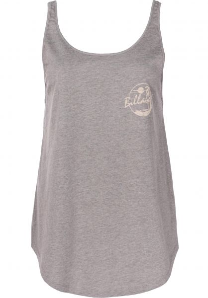 Billabong Tops Double Scoop dark-athletic-grey Vorderansicht