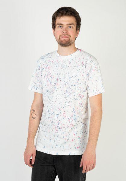 Captain Fin T-Shirts Crest II multi-white vorderansicht 0324163