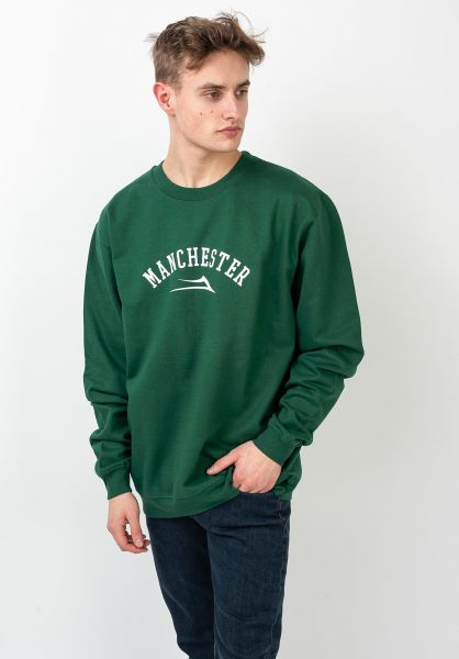 Lakai Sweatshirts und Pullover Manchester darkgreen vorderansicht 0422854