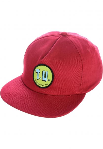Transportation Unit Caps Classic T.U. Snapback maroon vorderansicht 0565496