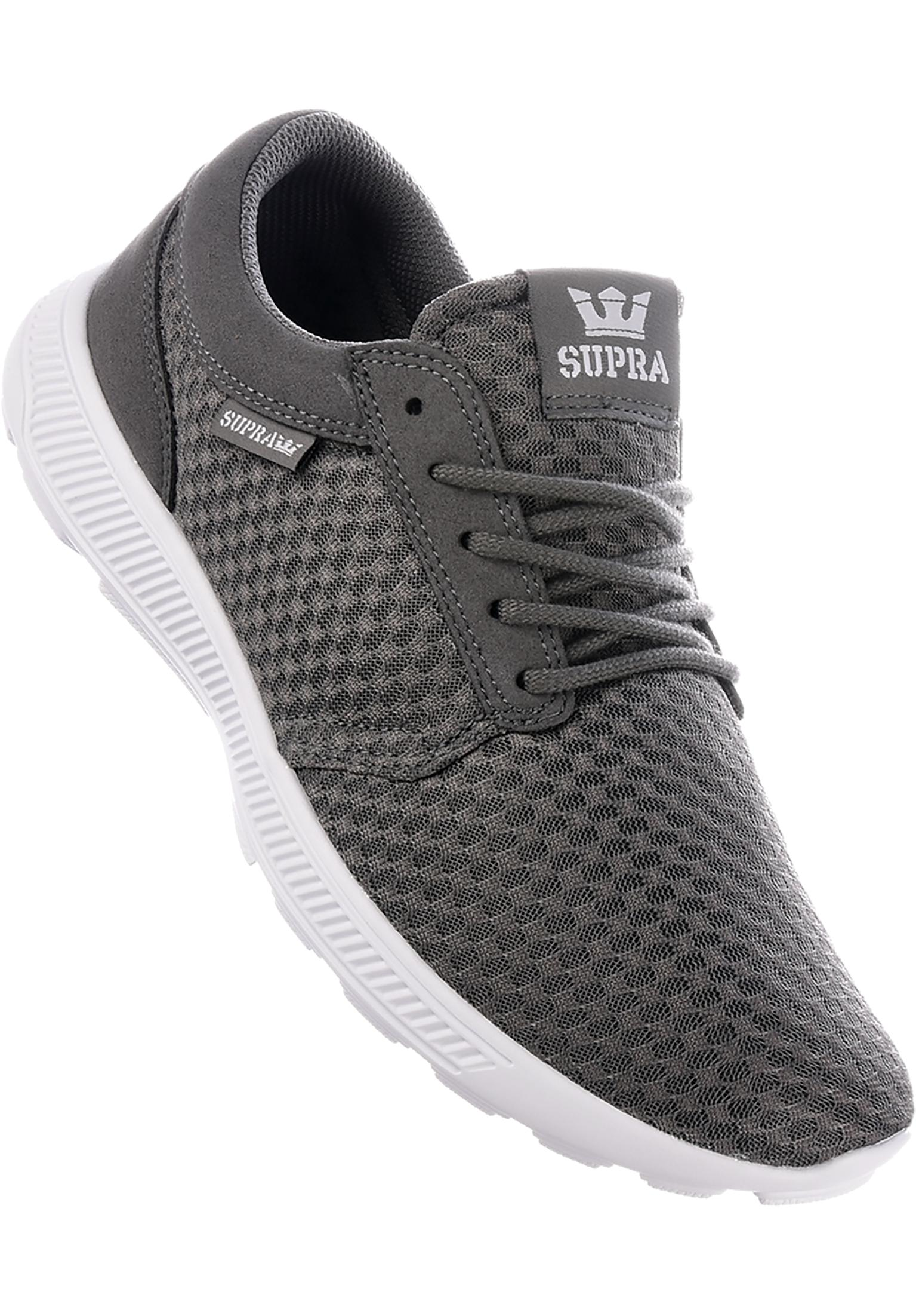 08c2a0c85bf6 Hammer Run Supra All Shoes in grey-white for Men