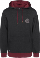 TITUS Hoodies Richard grey-washed Vorderansicht