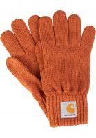 carhartt-wip-handschuhe-watch-gloves-cinnamon-vorderansicht-0141787