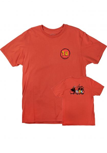 Transportation Unit T-Shirts Party Bois washed-red vorderansicht 0320293