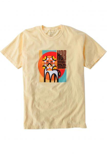 Habitat T-Shirts Leo Risen lightyellow vorderansicht 0321795