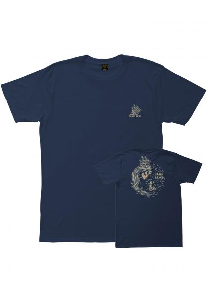 Dark Seas T-Shirts Enchantress navy vorderansicht 0383289
