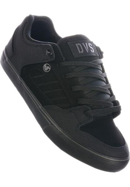 DVS Alle Schuhe Militia CT black-charcoal vorderansicht 0604723