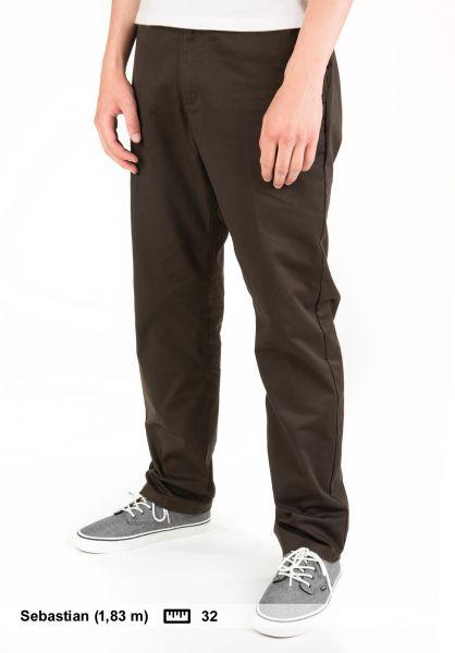 Nike SB Chinos und Stoffhosen Chino Standard Fit velvetbrown Vorderansicht