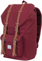 Herschel Rucksäcke Little America windsor-wine-tan Vorderansicht