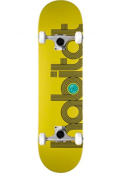 Habitat Skateboard komplett Eclipse yellow vorderansicht 0162799