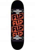 Flip Skateboard komplett Quattro black Vorderansicht