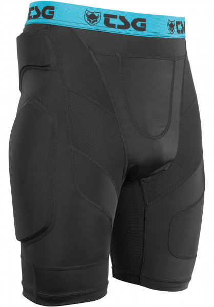 TSG Crash Pant A black Vorderansicht