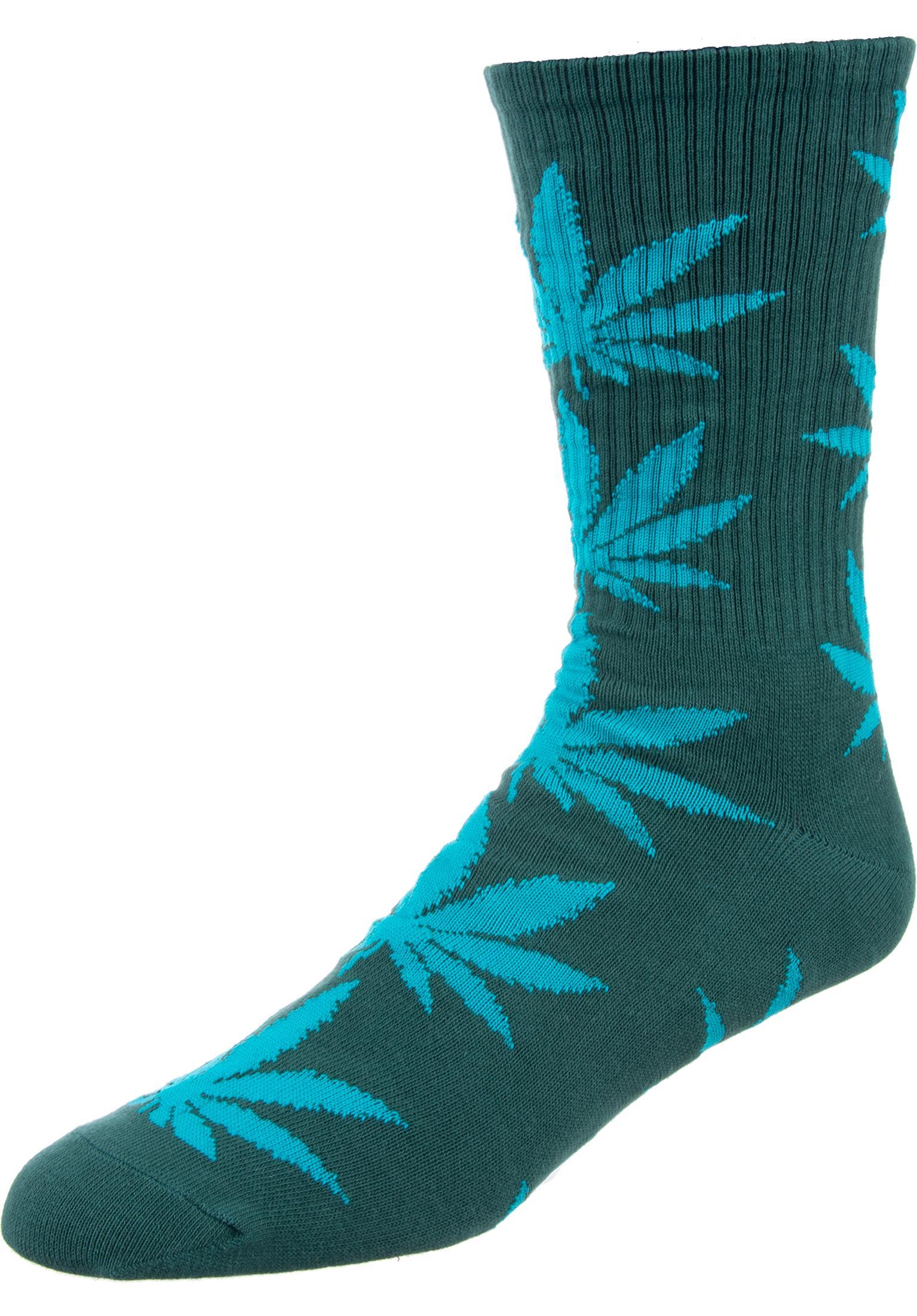 0f17a501072 Plantlife Crew Sock HUF Socks in jade for Men