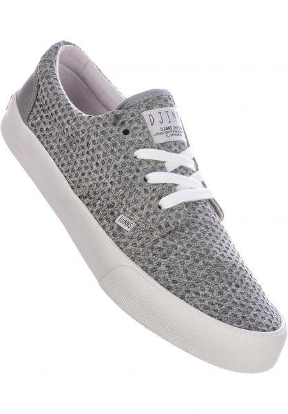 Djinns Alle Schuhe Nice Jersey Dots grey vorderansicht 0604627
