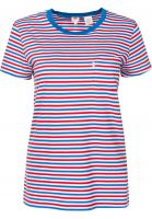 Levi's® T-Shirts The Perfect Crew multicolor-red Vorderansicht