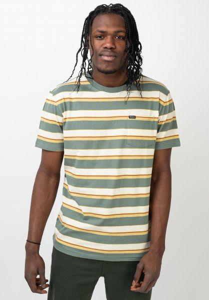 Brixton Hemden kurzarm Hilt Pocket cypress vorderansicht 0400960