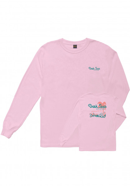 Dark Seas Longsleeves Vacation Women lightpink Vorderansicht