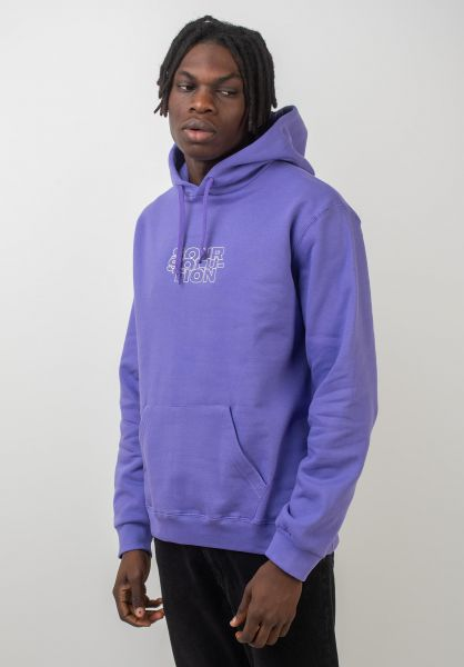 Sour Skateboards Hoodies Outliner lilac vorderansicht 0445429