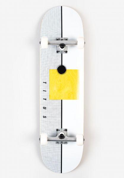 TITUS Skateboard komplett Geo Premium white vorderansicht 0162224