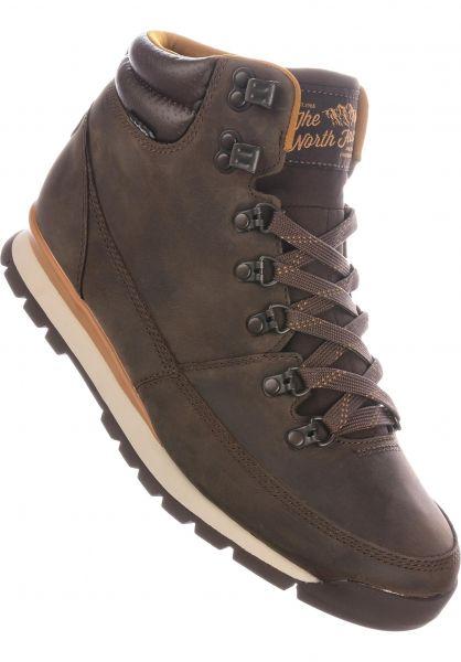 The North Face Alle Schuhe Back to Berkeley Redux chocolatebrown-goldenbrown vorderansicht 0604722