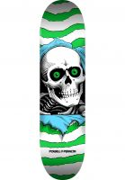 powell-peralta-skateboard-decks-ripper-birch-mini-one-off-green-vorderansicht-0117161