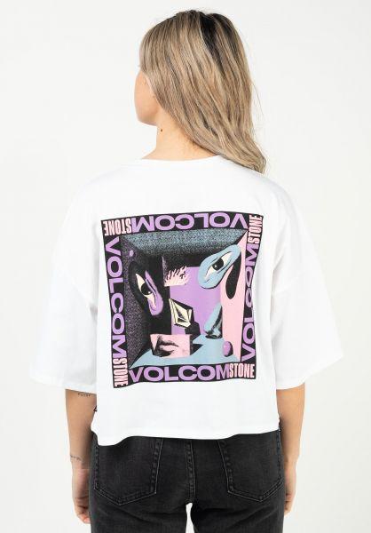 Volcom T-Shirts M. Loeffler Fa white vorderansicht 0322928