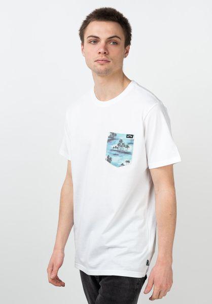 Billabong T-Shirts All Day Printed white vorderansicht 0321576