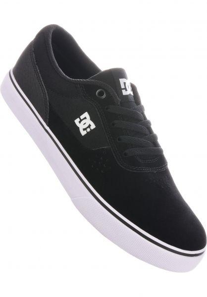 DC Shoes Alle Schuhe Switch S black-white vorderansicht 0604029