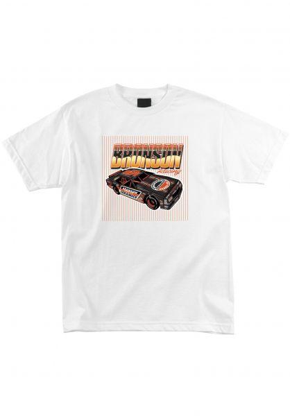Bronson Speed Co. T-Shirts Ceramics Car white vorderansicht 0323872