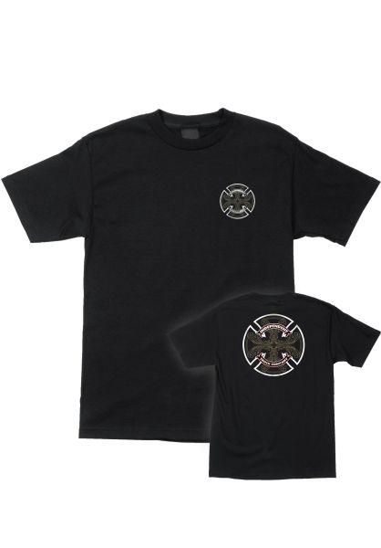 Independent T-Shirts Cab Flourish black vorderansicht 0383342