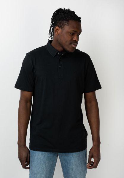 Volcom Polo-Shirts Wowzer black vorderansicht 0395704