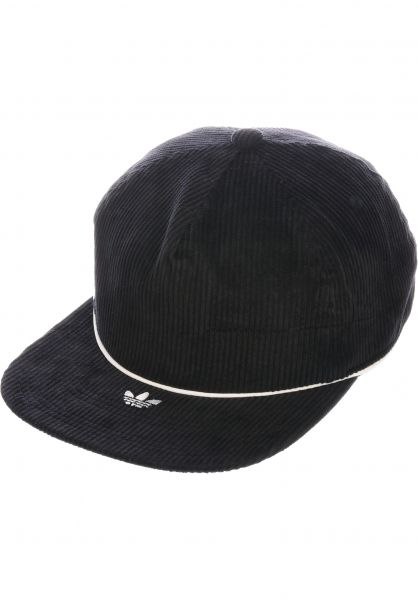 adidas-skateboarding Caps Corduroy Hat black vorderansicht 0566611